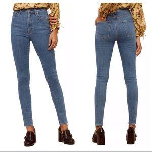 Aritzia Wilfred x COH Cleo Super High Rise Jeans